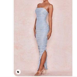 House Of CB Fornarina Baby Blue Dress